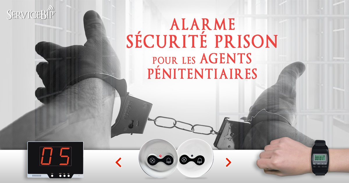 Alarme Sécurité Prison ServiceBip
