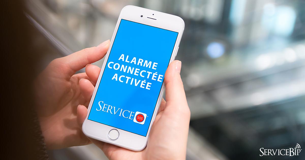 Alarme connectée ServiceSOS™