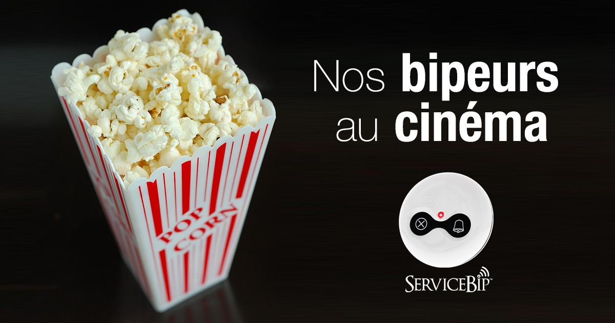 Bip d'appel pour les salles de cinéma