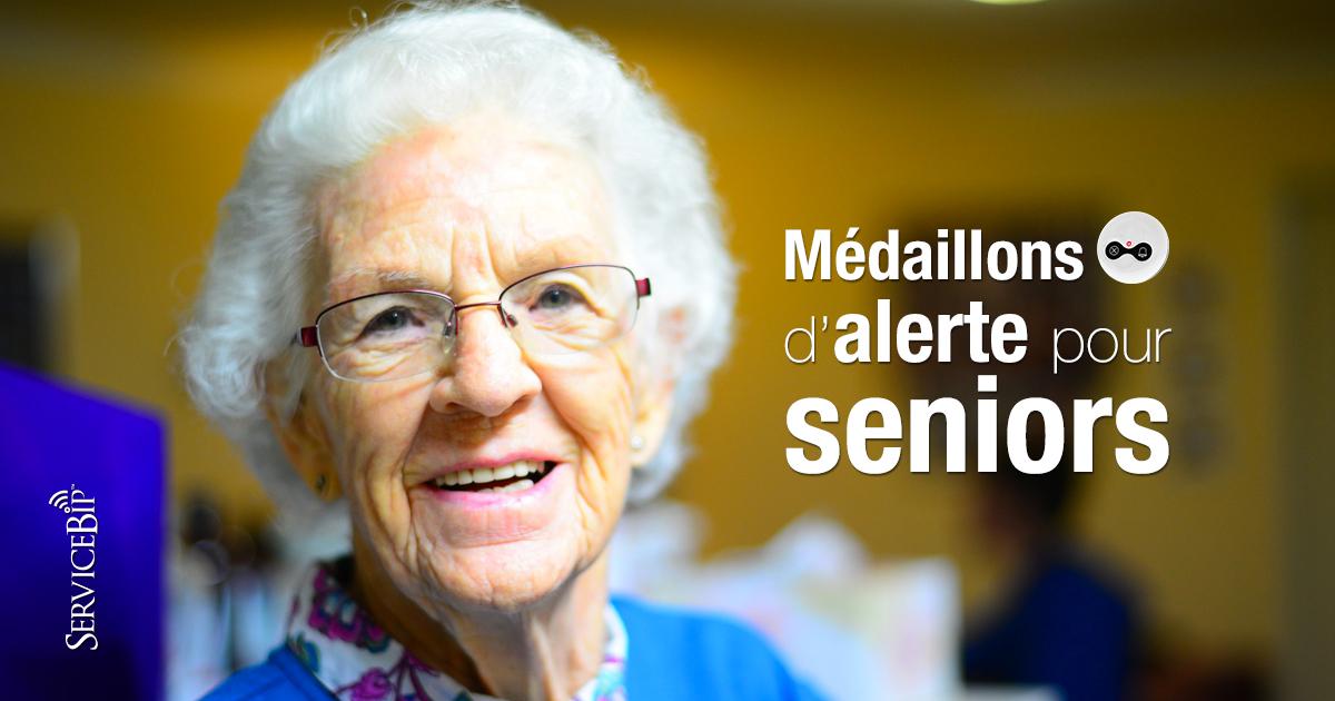 Boutons appel Senior