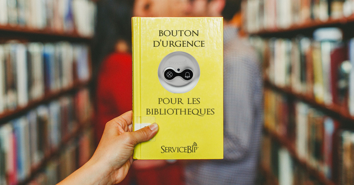 Bouton poussoir malaise ServiceBip™