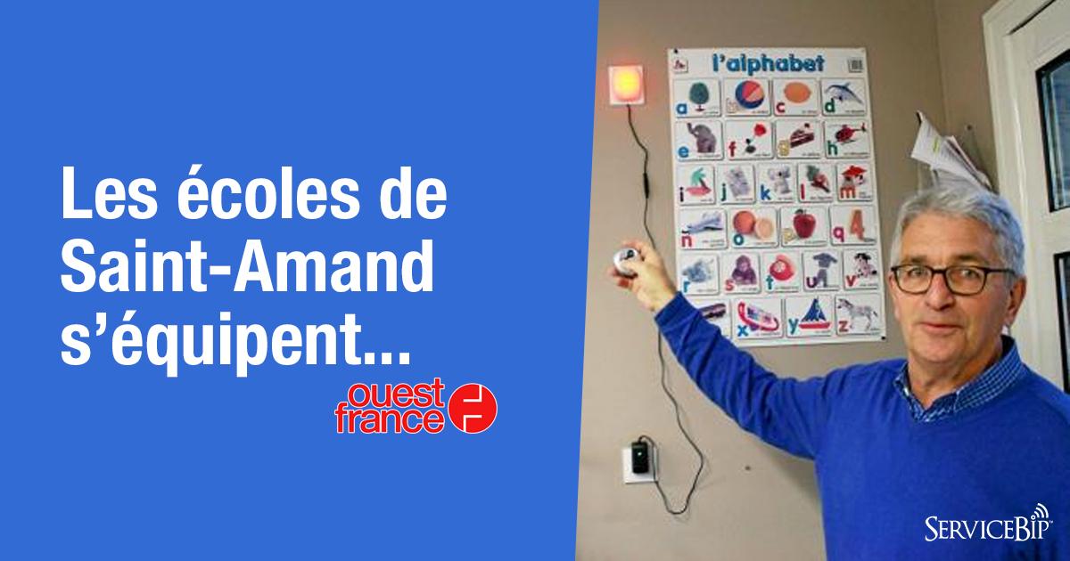 Saint Amand utiliser système anti-intrusion ServiceBip™