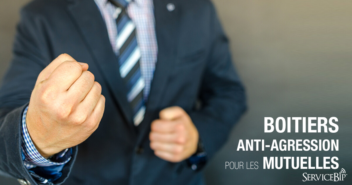 Bip anti-agression pour mutuelles ServiceBip