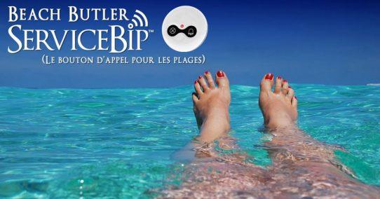 Le « Beach Butler » arrive à l'île du soleil