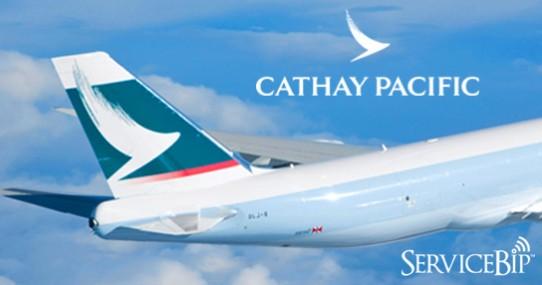 Notre bipeur client choisi par Cathay Pacific