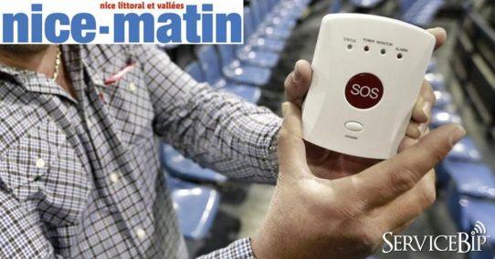 Le bouton d'alerte ServiceSOS™ anti Bataclan