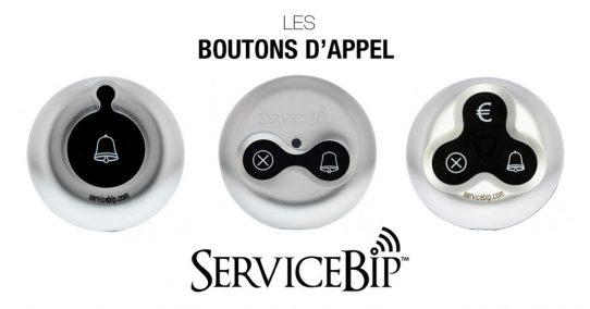 Nos boutons d'appel adaptés pour chaque professionnel
