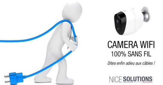 ServiceBip™ lance sa nouvelle caméra WIFI autonome