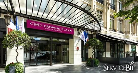 ServiceBip™ aux fourneaux du Crowne Plaza !