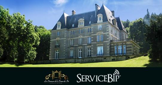 ServiceBip™ au Château Guy de Wendel