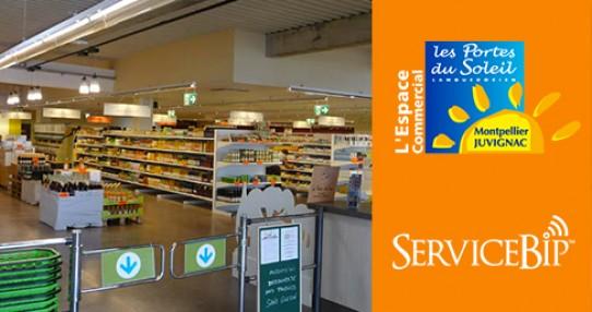Un centre commercial à Juvignac adopte ServiceBip™