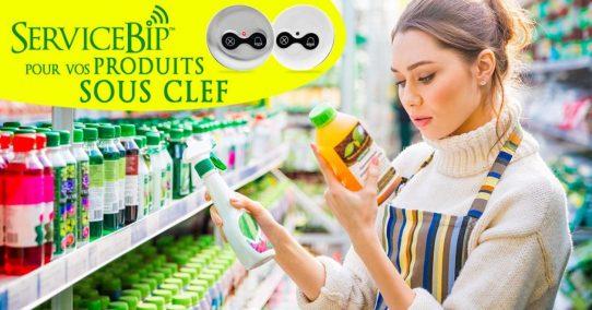 Nos bipeurs pour la vente sous clef de pesticides