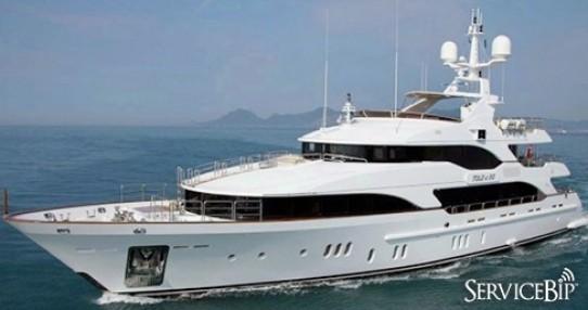 ServiceBip™ s'invite à bord du yacht « Moka »