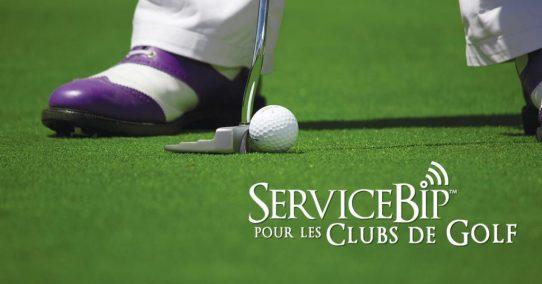 Notre beeper pour un service VIP en club de golf