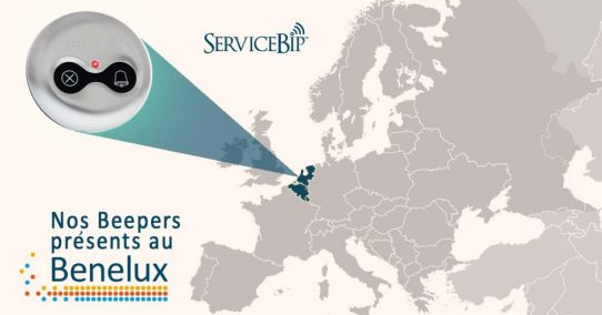 Le beeper ServiceBip™ largement présent au BENELUX