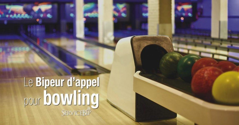 Le bipeur d'appel bowling prend place au Cristal Bowling