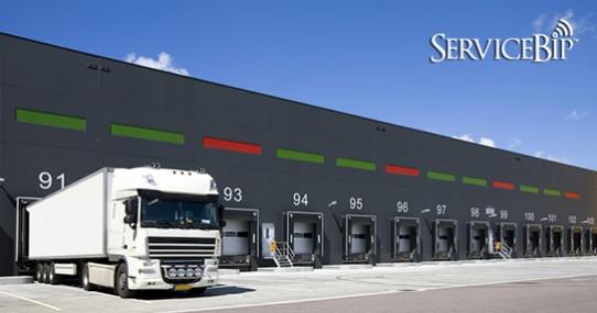 La file d'attente fluide pour les camionneurs
