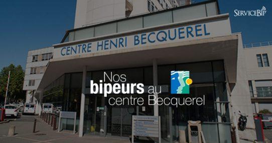 Le centre Becquerel opte pour nos bipeurs consultation