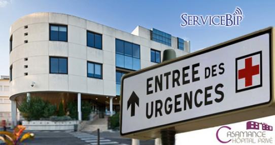 Notre bipper malade désengorge les Urgences