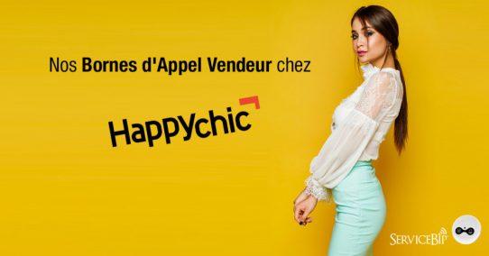 Nos bornes d'appel vendeur chez Happychic