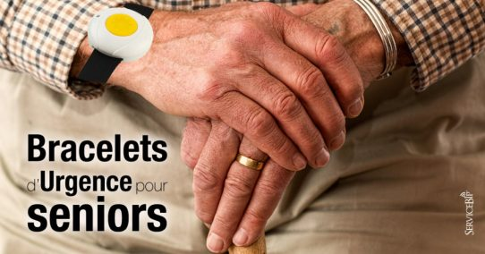 Nos bracelets urgence senior toujours au centre Delvalle