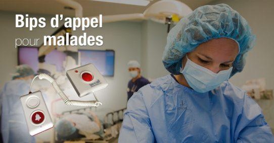 La clinique Champel Genève adopte nos poires appel malade