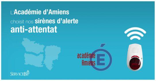 L'académie d'Amiens choisit nos sirènes alerte attentat