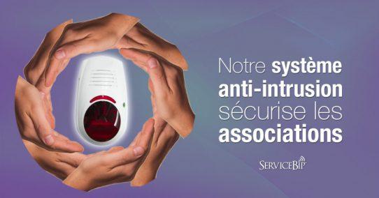 Notre système anti-intrusion sécurise les associations