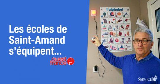 Notre système lumineux anti intrusion dans Ouest France